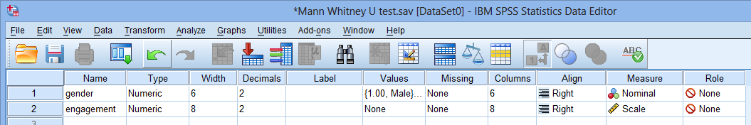 Mann Whitney U Test In Spss Laerd Statistics Premium Sample